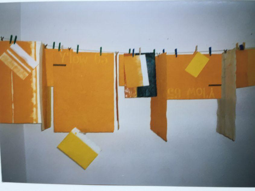 Gelbe Pigmente