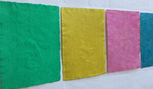 Einfarbige, monochrome Malerei