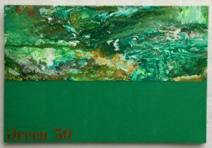 Grüne Malerei von Thomas P. Kausel
