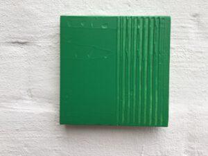 Konkrete Kunst in grün
