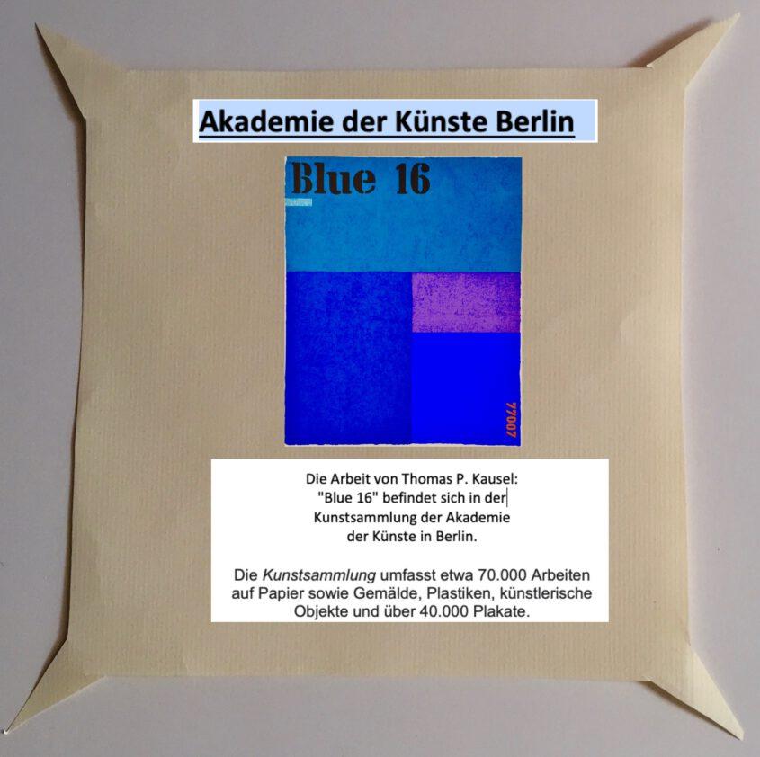 Akademie der Künste Berlin Kunstsammlung